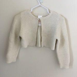 Adorable Cream Open Cardigan Sweater